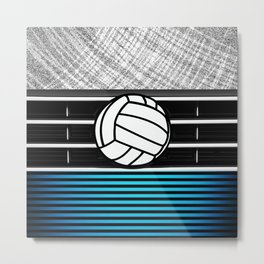 volley ball art Metal Print