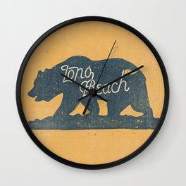 Long Beach, California Wall Clock