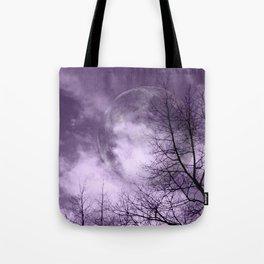 Purple Night  - JUSTART © Tote Bag