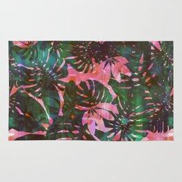 Motuu Tropical Pink & Green Rug