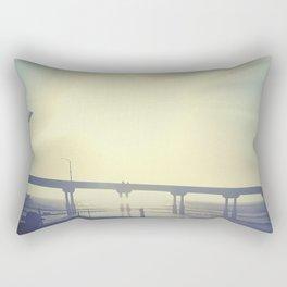 San Diego Sunshine Rectangular Pillow