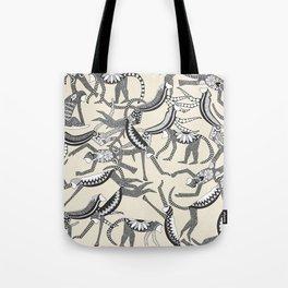 monkey light Tote Bag