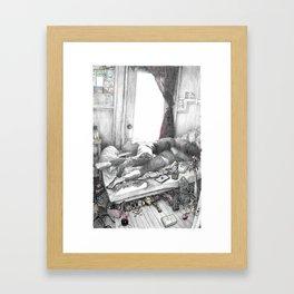 With Love Framed Art Print