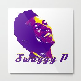 Swaggy Metal Print