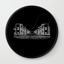 Kahn - Salk Institute Sketch (W) Wall Clock