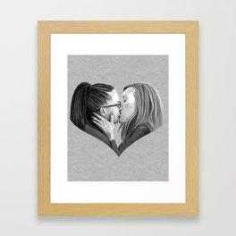 Orphan Kiss Framed Art Print
