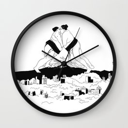 sumo time Wall Clock