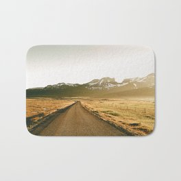 On the Road V / Iceland Bath Mat