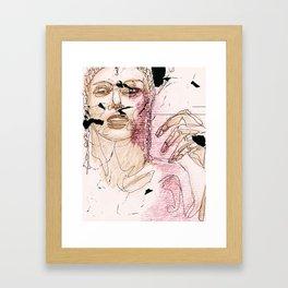 Subjektivität Framed Art Print