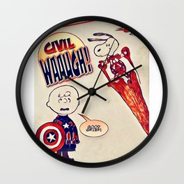 Civil Wauugh! Wall Clock