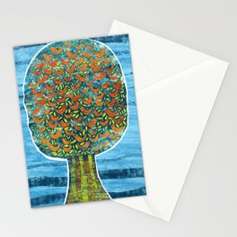 Tree and Birds Stationery Cards