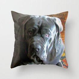 My dog Ovelix! Throw Pillow