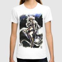 princess mononoke T-shirts featuring Princess Mononoke by Juan Pablo Cortes