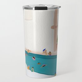 Alcove pool Travel Mug