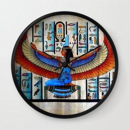 Goddess Isis Wall Clock