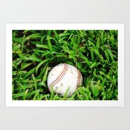 The Lost Baseball Art Print
