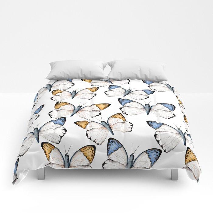 Tropical butterflies  Comforters