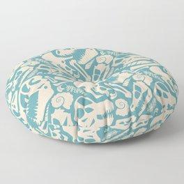 Fossil Pattern Floor Pillow
