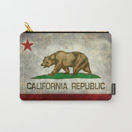 California flag - Retro Style Carry-All Pouch