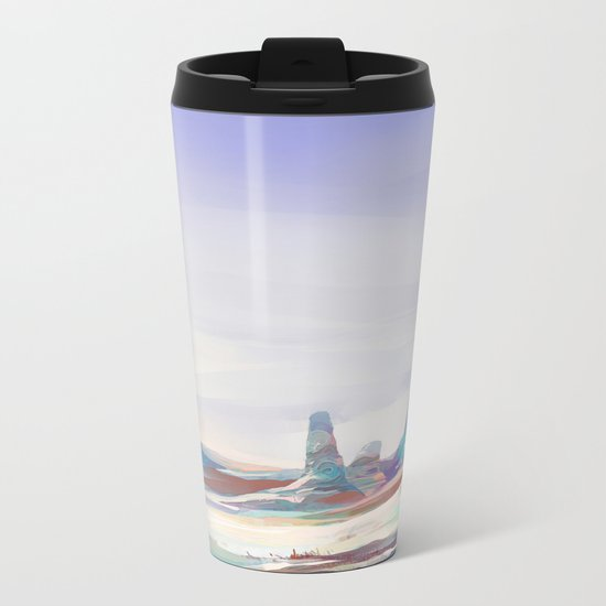 On another planet Metal Travel Mug