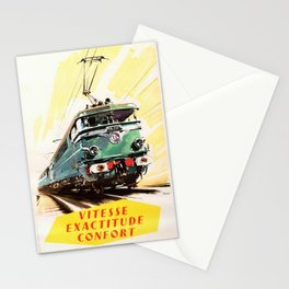 Vitesse Exactitude Confort Stationery Cards