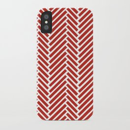 Herringbone Candy iPhone Case