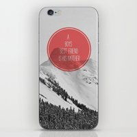 best friend iPhone & iPod Skins featuring best friend by Jesse Robinson Williams