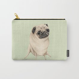 Sweet Fawn Pug Carry-All Pouch