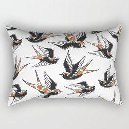 Rose Sparrows Rectangular Pillow