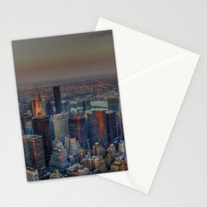 NEW YORK SUNSET Stationery Cards