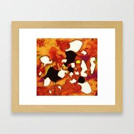 Rockburning Framed Art Print