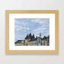 Fontainebleau Framed Art Print