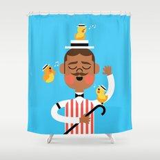 Barbershop Quartet Shower Curtain