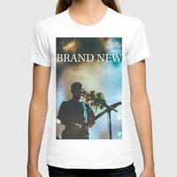 brand new T-shirts featuring Brand New by ICANWASHAWAY