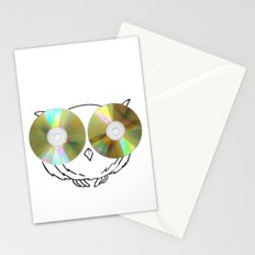 CD Owl Stationery Cards