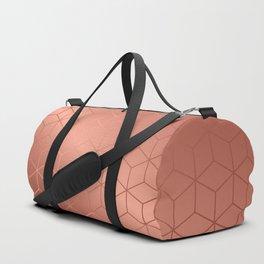 Gold Cubes 2 Duffle Bag
