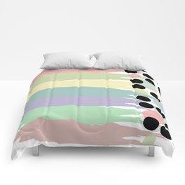 Pastel Line Up Comforters