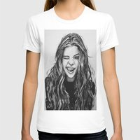 selena gomez T-shirts featuring Hello Selena! by vooce & kat