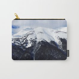 Snow cowered peaks Carry-All Pouch