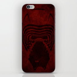 KYLO REN HELMET iPhone Skin