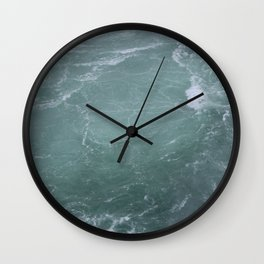 Below Niagra Falls Wall Clock