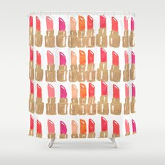 Lipstick! Shower Curtain