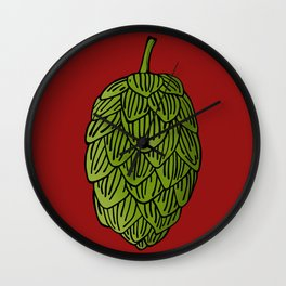 Hops Wall Clock