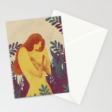 Young and fragile Stationery Cards