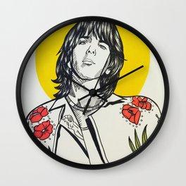 Gram Parsons Wall Clock
