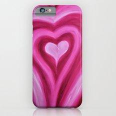 Pink Heart iPhone 6s Slim Case