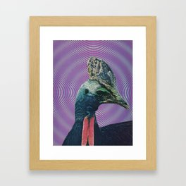 The last thing she saw Framed Art Print