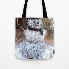 Winter Tumble Man Tote Bag