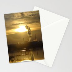 Smoke Gets in Your Eyes Stationery Cards