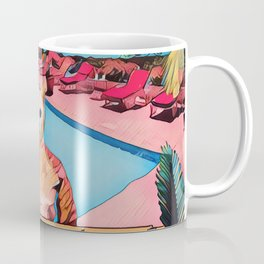 Kitty pool Coffee Mug